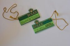 ROLEX Submariner ref 14060 Hangtag Preisschild vintage original tag green