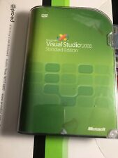 Microsoft Visual Studio 2008 Standard Std full retail GENUINE 127-00166 NEW