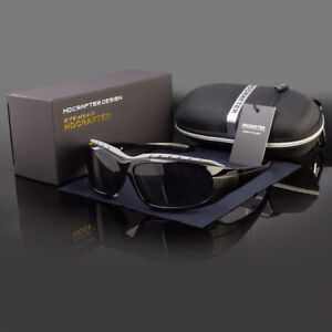 Polarized Wind Resistant Sunglasses Sports Motorcycle Riding Glasses Foam Padded