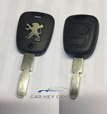 Peugeot 2 button Remote Key Case Fob Button Replacement 406 Shell Only