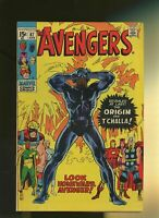 Avengers #87, VG/FN 5.0, Origin of the Black Panther