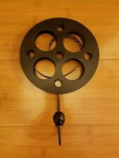 NEW CINEMA MOVIE REEL METAL DECOR HOOK theater room film retro vintage style 3d
