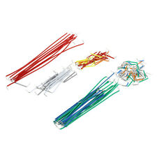 140pcs U Shape Solderless Breadboard Jumper Cable Wire Kit for Arduino Shield DT