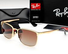Classic Fashion Aviator Polarized Sunglasses Men's Driving Glasses Brown Mirror