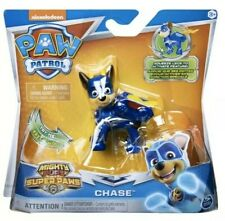 Nickelodeon Paw Patrol Mighty Pups Super Paws Chase Figure - New In The Package