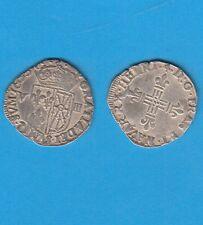 Gertbrolen Henri IV  (1589-1610)1/8éme d'écu de France-Navarre 1600 Saint-Palais