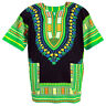 42 Color Dashiki African Mexican Poncho Tribal Shirt Blouse Cotton Unisex Var AU