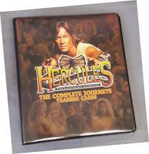 Hercules Journeys - Binder/Album inc A15 Meghan Desmond Autograph Card BP1 Promo