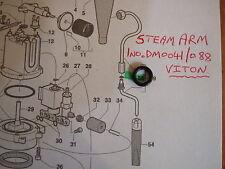GAGGIA CLASSIC-braccio a vapore/BACCHETTA Guarnizione o-ring, aggiornato a VITON, DM0041/088