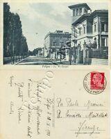 Cartolina di Foligno, panorama - Perugia, 1933