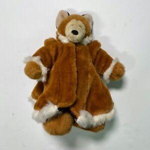 North American Bear Co Fox Fabulous Fakes 1986 Vintage Stuffed Plush Coat