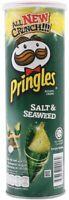 New Salt&Seaweed Pringles Potato Crisps Chips Bursting with Flavour Halal Thai