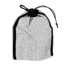 "2 Mesh Drawstring Bag for Diving Gear Fin Mask Swim Scuba Snorkeling 9""x6.5"""