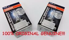 2pcs 2x D1S Osram Xenarc Night Breaker Unlimited Xenon Bulbs Original Genuine