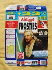 STAR WARS KELLOG'S Boite de céréales Episode 1 1999