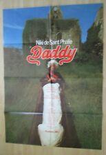 Filmplakat - Daddy ( Niki de Saint Phalle , Rainer Diez )