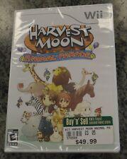 Harvest Moon: Animal Parade (Nintendo Wii, 2009) NEW