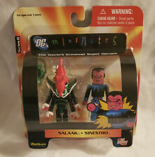 DC Direct MiniMates Series 8 SALAAK & SINESTRO Green Lantern Action Figure 2 PK