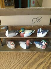 Avon 1984 Duck Collection With Shelf