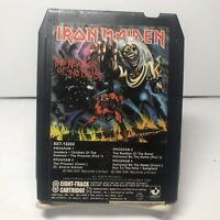 "Iron Maiden-""Numbers Of The Beast"" -8-Track Tape~ 8XT-12202 Holy Grail"