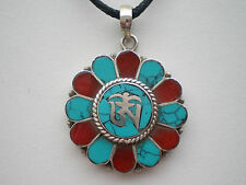 Unisex Coral Tibetan Jewellery