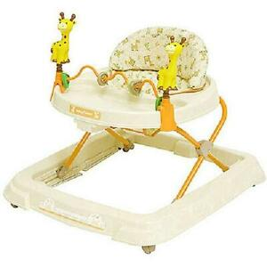 Baby Activity Walker with Wheels Boys Girls Walk Learning Assistant Kids Toy Bar