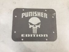 Wrangler JK Tailgate Spare Tire Delete Plate 2007 & Up! Punisher Edition