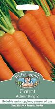 Mr Fothergills - Vegetable - Carrot - Autumn King 2 - 2000 Seeds