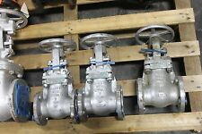 "LOT OF 10 NEW GATE VALVES POWELL FAIRBANKS NIBCO 2"" AND 2 1/2"""