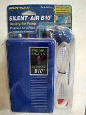 Penn-Plax Silent Air B10 Battery Operated Aquarium & Fishing Air Pump Manual NEW