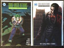 Dark Knight Returns The Last Crusade #1 Dc Comics + Variant Nm