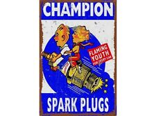 NEW Champion Youth Tin Metal Sign
