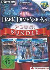 DARK DIMENSIONS BUNDLE - 3 SPIELE - PC SPIEL - NEUWERTIG!!