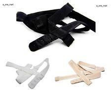 3x Damen BH-Träger BH Verlängerung Rückengurt Rückenkonverter rückenfrei 3Farben