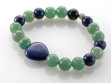 Echtschmuck-Armbänder aus Sterlingsilber mit Lapis Lazuli-Hauptstein für Damen