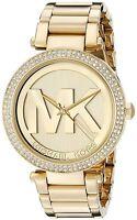 Orologio da donna Michael Kors Collezione Parker MK5784 Acciaio dorato