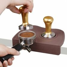 BLACK BARISTA TAMPING MAT ESPRESSO TAMPING MAT FOOD SAFE SILICONE - APPROVED