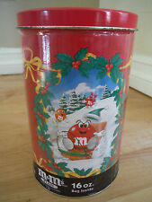 1993 M & M's Holiday Collectors Tin