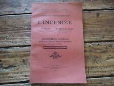 ASSURANCE AGRICOLE MUTUELLE L' INCENDIE STATUTS POLICE REGISTRES POMPIERS 1906