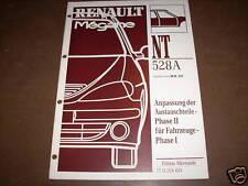 Workshop Manual Renault Megane Austauschteile, 1999