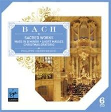 BACH: MASS IN B MINOR & SACRED WORKS NEW CD