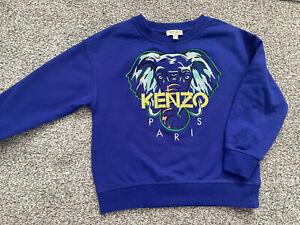 Boys Designer KENZO jumper Age 5