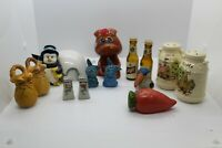 Vintage Salt And Pepper Shakers Lot