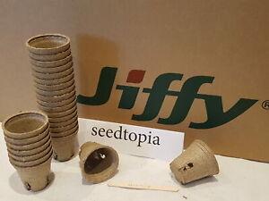 Jiffy Pots 6cm Plant Pots Round with slits Biodegradeable Compostable P122