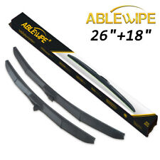 ABLEWIPE HYBRID For Mitsubishi Outlander 2013 2014 2015 Windshield Wiper Blades
