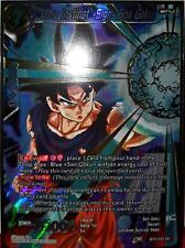 DBS BT3-033 Ultra Instinct -Sign- Son Goku - SR