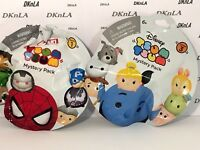 Tsum Tsum Blind Bags Marvel Series 1 & Disney Series 3 w/1 Medium & 1 Stackable