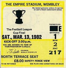 Liverpool Football League Cup Fixture Tickets & Stubs