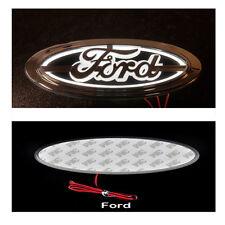 5 D Emblem LED Rear Badge White 14.5cm x 6.5cm Logo Light Ford Mondeo