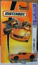 Matchbox 2005 Ford GT #13 Orange w/ Black stripe - 2007 Series